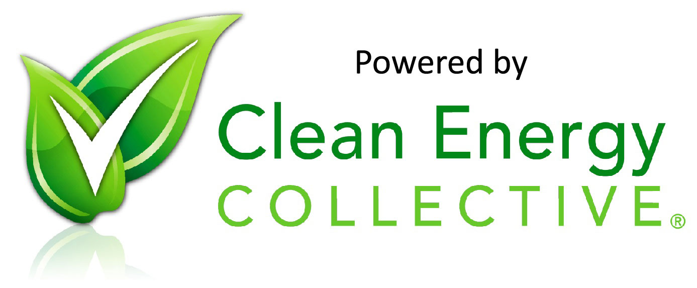 Clean Energy Collective solar panels for your electricity.